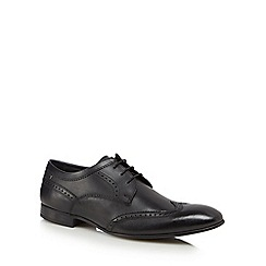 Base London - Black leather 'Purcell' brogues