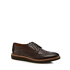 Base London - Brown leather 'Orion' brogues