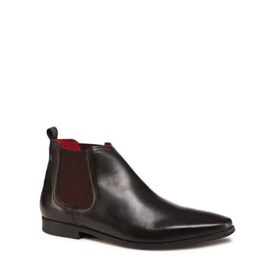 Base London - 'William' Black leather 'William' - Chelsea boots 7de01d