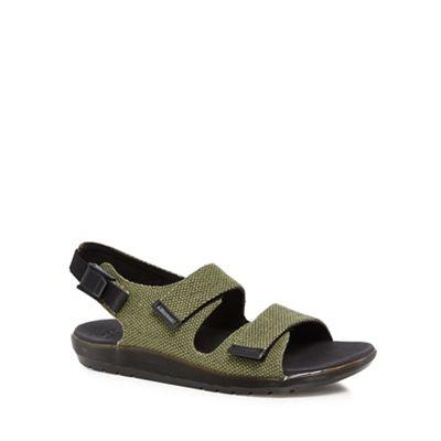 Dr Martens - Khaki 'Crewe' sandals