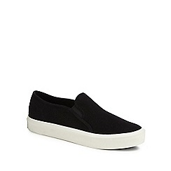 G-Star - Black 'Strett' slip-on trainers