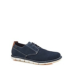 Timberland - Navy suede 'Tidelands' Oxford shoes