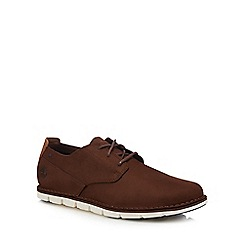 Timberland - Brown leather 'Tidelands' Oxford shoes
