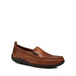 Timberland - Tan 'Sandspoint' loafers