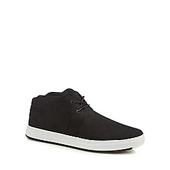 Timberland - Black nubuck 'Davis' chukka boots
