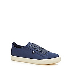 Kickers - Navy canvas 'Tovni' trainers