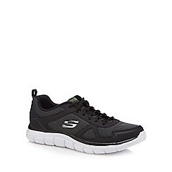 Skechers - Black 'Track Bucolo' trainers
