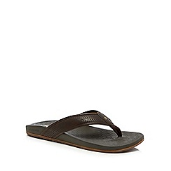 Skechers - Brown 'Pelem Emiro' flip flops
