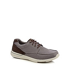 Skechers - Grey canvas 'Elent Arven' trainers