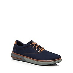 Skechers - Navy canvas 'Folten Verome' trainers