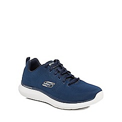 Skechers - Navy 'Quantum' trainers