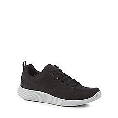 Skechers - Black 'Depth Charge' lace up trainers