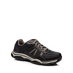 Skechers - Black 'Rovato Texon' trainers