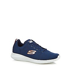 Skechers - Navy 'Elite Flex Attard' trainers