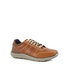 Skechers - Tan 'Montego Barston' lace up shoes