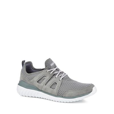 Skechers - Grey 'Rough Cut' trainers