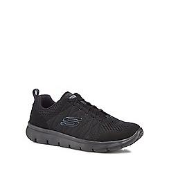 Skechers - Black 'Marauder' trainers