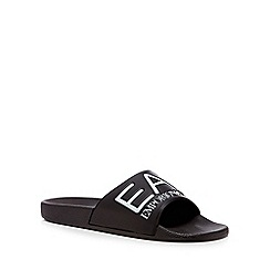 Emporio Armani - Black 'Sea World Visibility' sliders