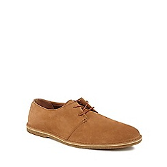 Clarks - Tan suede 'Baltimore' desert shoes