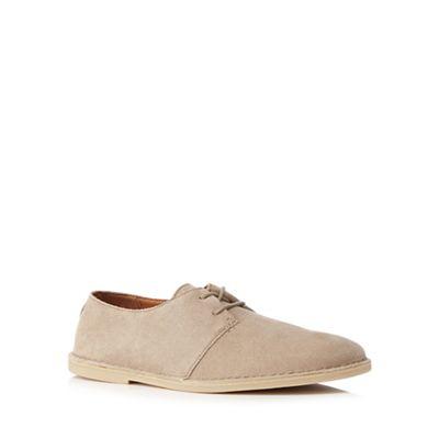 Clarks Natural suede desert shoes 0840112531