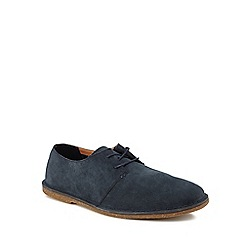 Clarks - Navy suede 'Baltimore' desert shoes