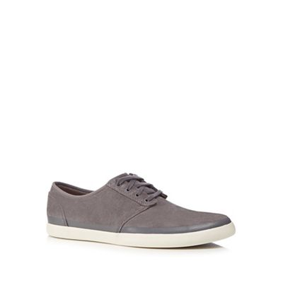 ed6e3bd5d17 Clarks - Grey suede  Torbay Rand  Rand  Rand  trainers 95ae6d ...