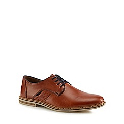 Rieker - Tan Derby shoes