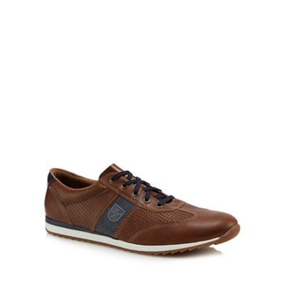 Rieker - Brown trainers Fashionable and eye-catching shoes