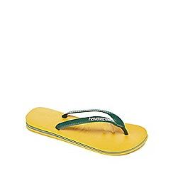 Havaianas - Yellow flip flops