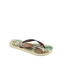 Havaianas - Light brown flip flops