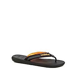 Havaianas - Black 'Surf' flip flops