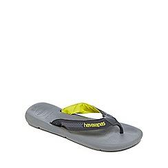 Havaianas - Grey 'Surf Pro' flip flops