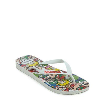Havaianas - Multi-coloured 'Mario Bros' flip flops
