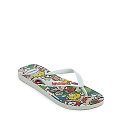 Havaianas - Multi-coloured 'Mario Bros' flip flops
