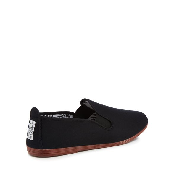 on slip Black trainers canvas Flossy 'Arnedo' wU6zxCaq