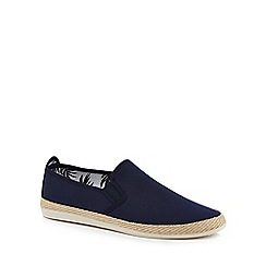 Flossy - Navy canvas 'Copo' espadrilles