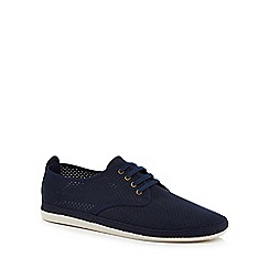 Flossy - Navy suedette 'Rifle' trainers