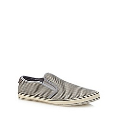 Original Penguin - Grey 'Espy' slip-on trainers