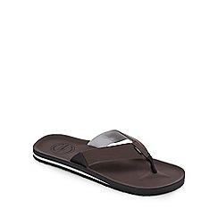 O'Neill - Brown 'Chad' flip flops