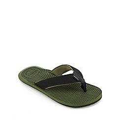 O'Neill - Green 'Koosh' flip flops