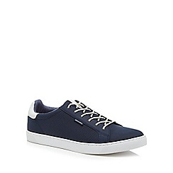 Jack & Jones - Navy 'Trent' trainers