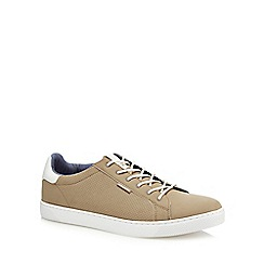 Jack & Jones - Taupe 'Trent' trainers