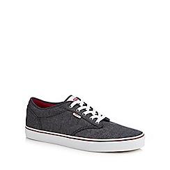 Vans - Dark grey canvas 'Atwood' trainers