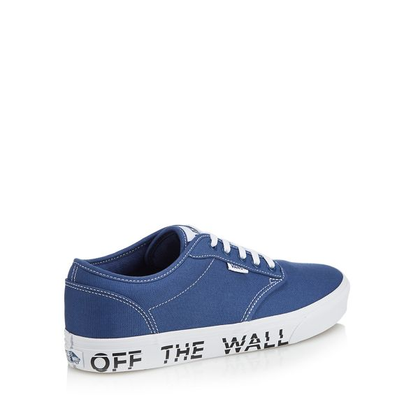 Vans printed sole 'Atwood' Blue trainers canvas P67Wz6