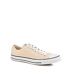 Converse - Natural canvas 'Chuck Taylor All Star' trainers