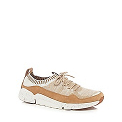 Clarks - Tan 'Triactive' trainers