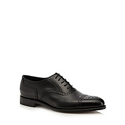 Loake - Black leather 'Overton' brogues