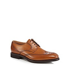 Loake - Tan leather 'Sirius' brogues