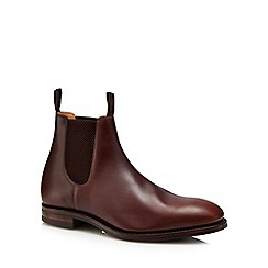 Loake - Brown leather 'Chatsworth' Chelsea boots