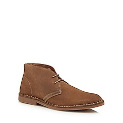 Loake - Taupe suede 'Sahara' desert boots